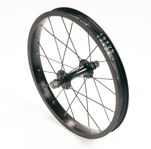 "United Supreme 16"" Front Wheel Black"